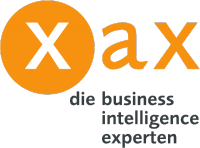 Logo xax managing data & information GmbH, Meschede