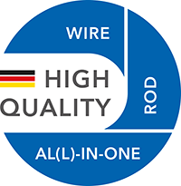 High quality: wire, rod, al(l)-in-one