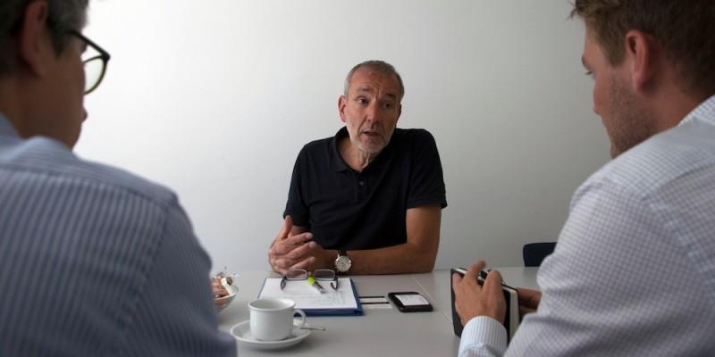 Interviews Frank Schmidt Von Der Agentur Fur Arbeit Im Interview